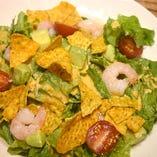 海老とアボガドのメキシカンサラダ