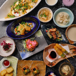 京都の四季を天婦羅に♪旬の食材と生麩、京湯葉、名残り鱧も期間限定でご用意。