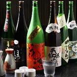 こだわりの日本酒を、厳選して取り揃えております。