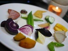 色々野菜のバーニャカウダ