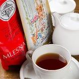 スリランカ産の上質な紅茶をお楽しみいただけます