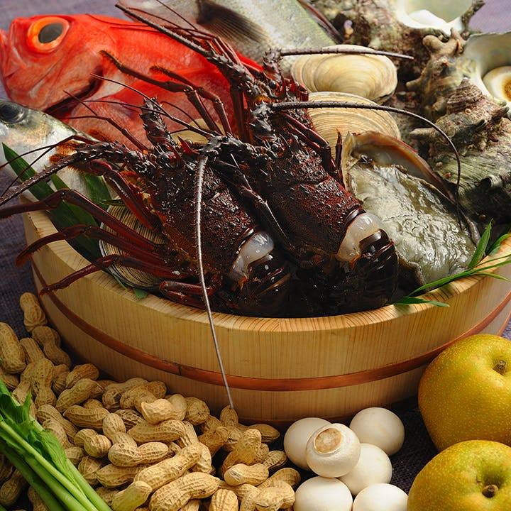 千葉県産の食材をふんだんに使用