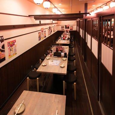 水炊き・焼き鳥 とりいちず酒場 市川北口駅前店 店内の画像