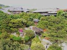 3,500坪の回遊式日本庭園
