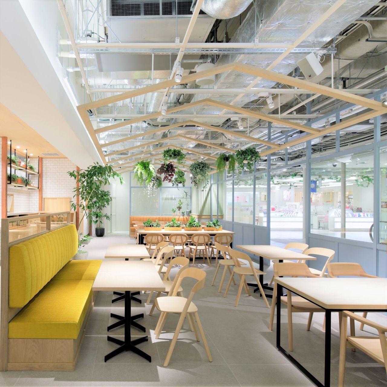 Shinjuku Sanchome Cafe IZAMESHI Table Shinjuku Marui Honkan