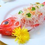 中国風魚料理
