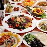 熟練の中華職人による極上逸品料理の数々をご堪能ください