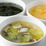 心も体も温まるスープをどうぞ♪