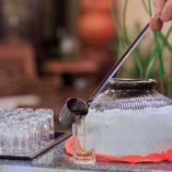 伝統的な製法で醸造した「甕出し紹興酒」は本格中華に相性抜群