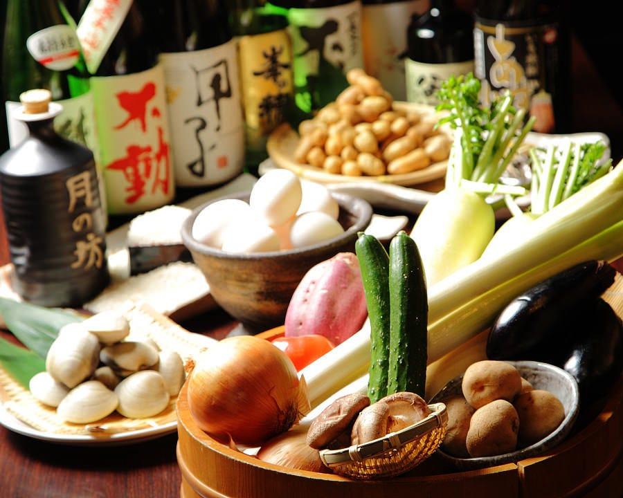 千葉県産食材を使用したお料理