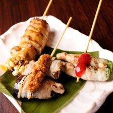 豚巻き野菜串