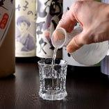 【季節の一杯】 日本酒や焼酎からも感じる四季折々の味わい
