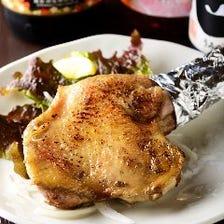 料理人の技が冴えわたる鶏料理