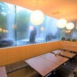 宴会最大40名様迄◎!大きな窓が特徴的な開放感のある店内です!
