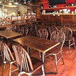 テーブル席 20席(2名様×10席)