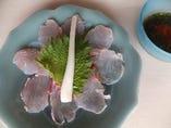 当店自慢の新鮮な魚♪お刺身の盛り合わせは1人前からご用意!