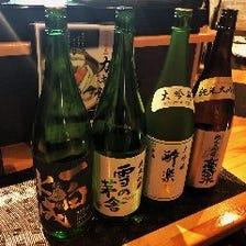 秋田の日本酒と牡蠣にあうワイン