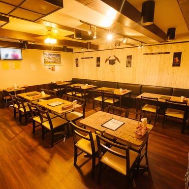 個室アジアンレストラン 食べ飲み放題 まいた 浜田山店 店内の画像