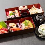 寿司会席弁当(2段)