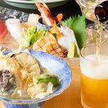 [お祝い事にも◎] 季節料理を加えた会席は顔合わせなどに人気