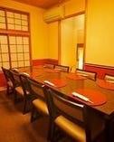 4~8名様程度のお座敷テーブル・イス席個室