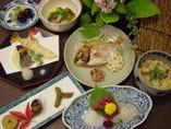 【お祝コース】 お頭付の鯛.赤飯。七五三.お宮参りの後の食事に