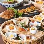 【コース】 四季折々の食材で仕立てる自慢の逸品が味わえる