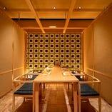 大小個室宴会が可能なテーブル席完全個室(~4名様×4部屋、~6名様×4部屋、~8名様)