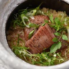 牛肉の土鍋ご飯