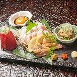 【九州直送】 赤鶏はタタキ、皮ポン、鶏わさで!