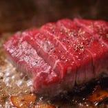 牛ヒレステーキ(アンガス黒牛)