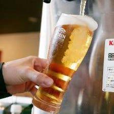 豊富なビール系ドリンクが自慢!
