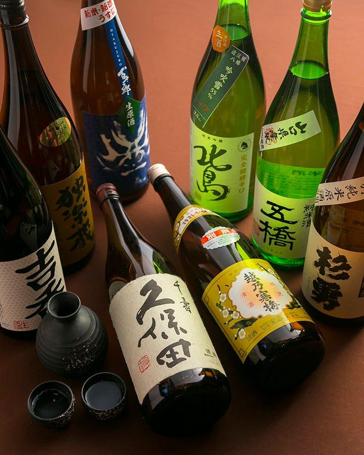 上質な牛肉は旨い日本酒が合う