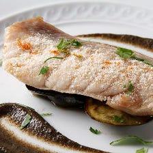糸島野菜や旬の魚介