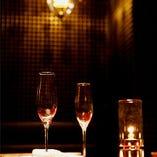 Luxuryな雰囲気の中、お食事をお楽しみ頂けます。