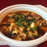麻婆豆腐&ライス弁当