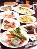 歓送迎会、貸し切りパーティー【4000円コース】料理8品・2H飲み放題付
