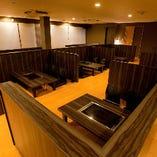 お座敷席(~6名様×3、~4名様×3)