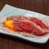 黒毛和牛のあぶり寿司-霜降り-