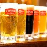 """シュマッツ""""オリジナル""""ドイツビール全8種を飲み比べて楽しんで"""