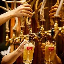 """本格ドイツビールを""""生""""で味わう!"""