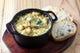 牡蠣と卵のアヒージョ