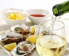 牡蠣には合うワインもあります!