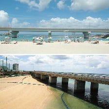 那覇市唯一のビーチサイドでBBQ!