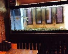 新鮮! 水槽のお魚をすぐ調理!