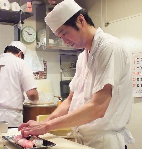素材のいい鮮魚と職人の腕が光る