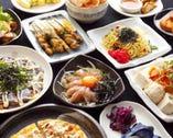 料理全80種類と豊富にご用意! 一品313円からでリーズナブル☆
