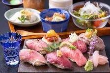 こだわり肉寿司夜ランチ