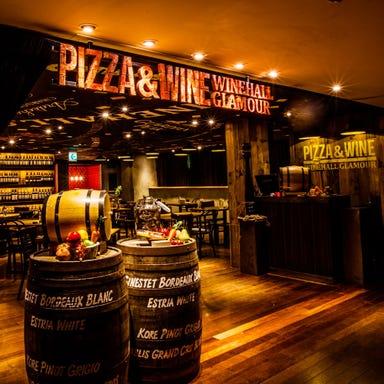 PIZZA&WINE WINEHALL GLAMOUR 新宿  店内の画像
