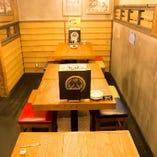 【2~74名様】テーブル席